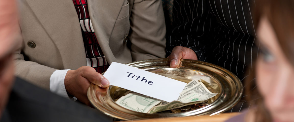 Tithing is NO More Mandatory